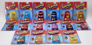 16 Toy Biz Pokemon Collector Marble Sealed Pouches