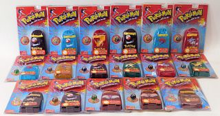 17PC Toy Biz Pokemon Sealed Collector Marble Pouch