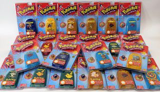 22 Toy Biz Pokemon 1st Ed Sealed Collector Marbles