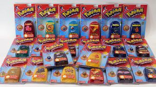 20 Toy Biz Pokemon 1st Ed Sealed Collector Marbles