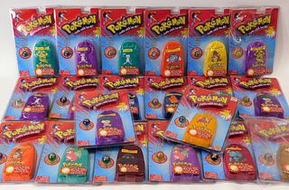 20PC Toy Biz Pokemon Sealed Collector Marble Pouch