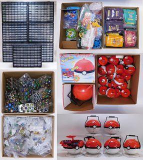 MASSIVE 5000PC Toy Biz Pokemon Marble Collection