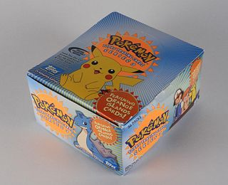 Topps Pokemon Series 3 Trading Card Booster Box