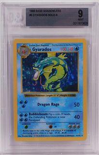 1999 Pokemon Base Shadowless Gyarados BGS 9 TCG