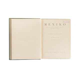 Brehme, Hugo. Mexiko. Baukunst, Landschaft, Volksleben. Berlin: Verlag Ernst Wasmuth A. G., 1925.