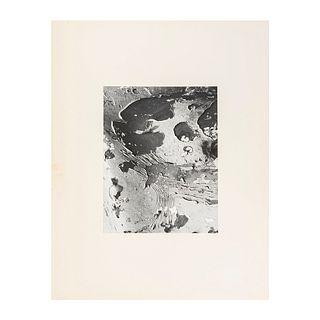 "Salas Portugal, Armando. Pintura Descarapelada. Mexico. Black and white photograph, 6.6 x 9.4"" (17 x 24 cm). On paper. Propietor seal."