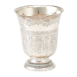 FRENCH STERLING CUP