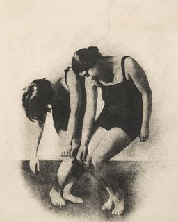 FRANTISEK DRTIKOL (1883–1961) Dance Study, Prague 1920