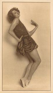 TRUDE FLEISCHMANN (1895–1990) The dancer Claire Bauroff, Vienna 1925