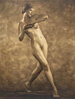 NICKOLAS MURAY (1892–1965) Nude study of Martha Laber, 1925