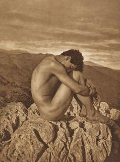WILHELM VON GLOEDEN (1856–1931) 'Cain', Taormina c. 1900