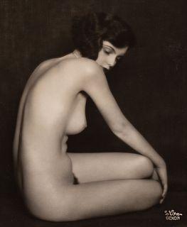 ARTHUR BENDA (1885–1969) Nude study (Miss Eskenasy), Vienna 1928