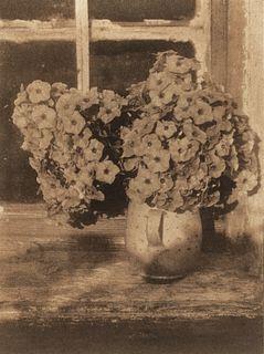 HEINRICH KÜHN (1866–1944) 'Blumen im Krug', c. 1924
