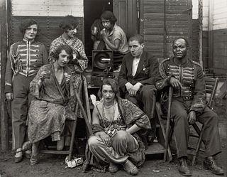 AUGUST SANDER (1876–1964) 'Zirkusartisten', Cologne 1926-32