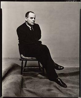 IRVING PENN (1917–2009) The Ballet Writer Lincoln Kirstein, 1949