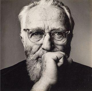IRVING PENN (1917–2009) Edward Steichen, New York 1959