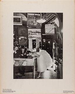 RICHARD AVEDON (1923–2004) Fashion shoot, Harper's Bazaar, 1950s