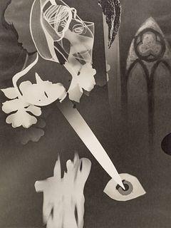 CHRISTIAN SCHAD (1894–1982) Schadographie No. 109 (Collage), 1975