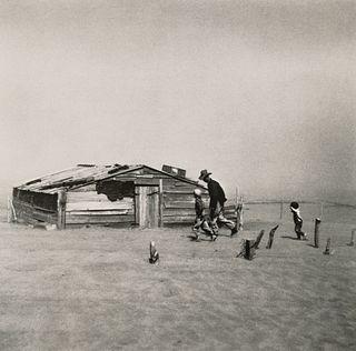 ARTHUR ROTHSTEIN (1915–1985) 'Dust Storm, Cimarron County, Oklahoma' 1939