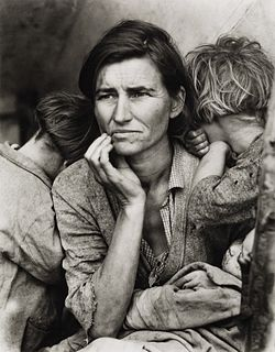 DOROTHEA LANGE (1895–1965) 'Migrant Mother', California 1936