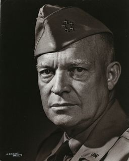 YOUSUF KARSH (1908–2002) Dwight David Eisenhower - Supreme Commander Allied Expeditionary Forces, Canada 1946