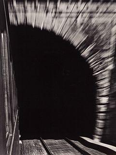 RENÉ GROEBLI (* 1927) 'Magie der Schiene' (Rail Magic), 1949