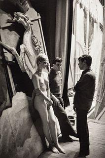 JEAN-PHILIPPE CHARBONNIER (1921–2004) 'Behind Folies Bergère', Paris 1960