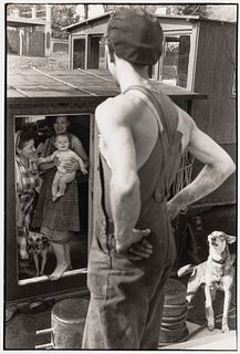 HENRI CARTIER-BRESSON (1908–2004) Yvelines, Bougival 1956