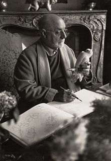 HENRI CARTIER-BRESSON (1908–2004) Henri Matisse, Vence February 1944