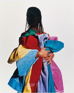 IRVING PENN (1917 - 2009) Fashion for Yves Saint Laurent, Vogue, New York 1981
