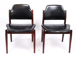 Arne Vodder for Sibast Danish Modern Side Chairs,