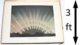 Celestial Chromolithographs by Trouvelot 1880's
