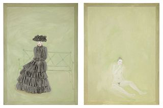 Nicolas Africano(American, b. 1948)Ingenue, 1984-85 (diptych)