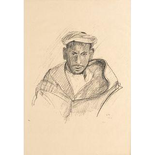 Edvard Munch (attrib.), lithograph, 1928