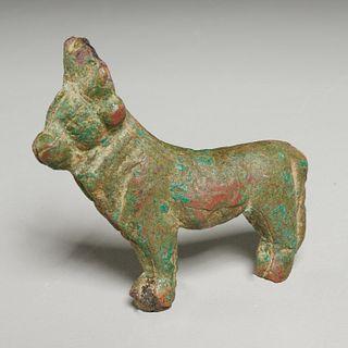 Ancient Egyptian bronze Apis Bull, ex-museum