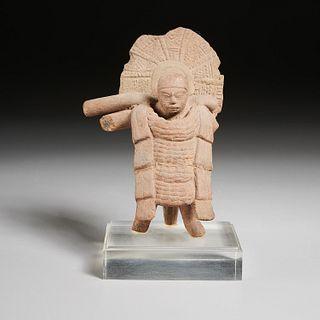 Pre-Columbian standing warrior, ex-Mathias Komor