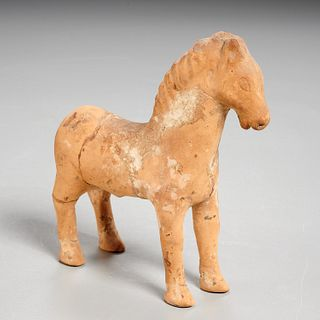 Parthian terracotta horse, ex-Mathias Komor