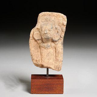Pre-Columbian Mayan terracotta figure