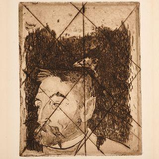 Paul Gauguin, etching