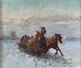 Janos Viski (Hungarian, 1891-1965
