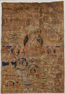 Tibetan Thangka, late 1700s