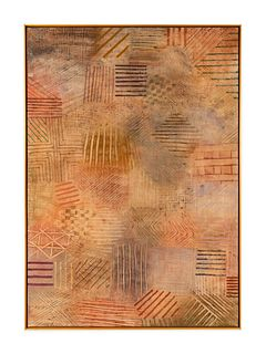 David Shapiro (American, 1944-2014) Untitled (Lines)