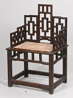 Chinese Throne Chair, early 20th century