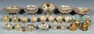 12 Chinese Export Silver Novelties
