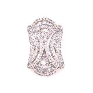 18k Gold Diamonds Ring