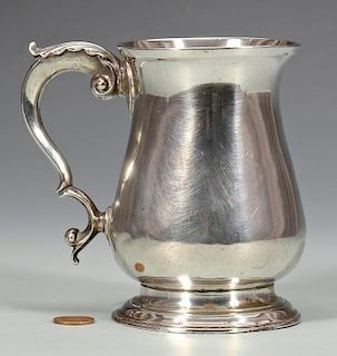 Georgian Sterling Silver Cann, circa 1770
