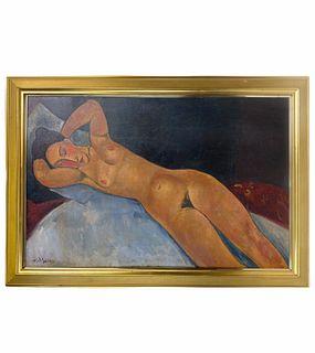 Amedeo Modigliani Italian oil painting