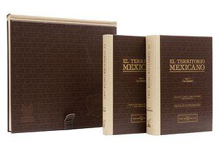 Ruiz Naufal, Víctor M - Lemoine, Ernesto... El Territorio Mexicano. México: Instituto Mexicano del Seguro Social, 1982. Pieces: 3.