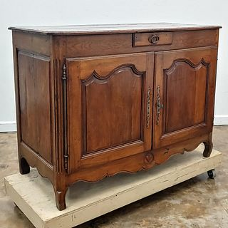 LATE 18TH C. FRENCH FRUITWOOD & OAK BUFFET