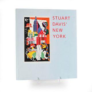 BOOK, STUART DAVIS' NEW YORK BY BRUCE WEBER